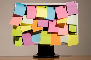 Sticky Notes on Screen