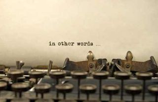Typewriter In Other Words